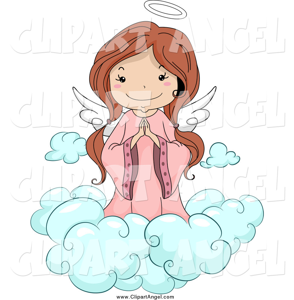 Royalty free stock angel designs of kids for Angel clipart