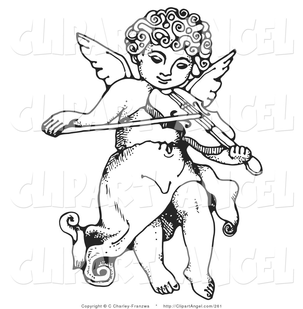 free black angel clipart - photo #40