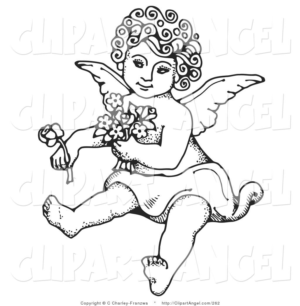 coloring pages cherubs - photo#11