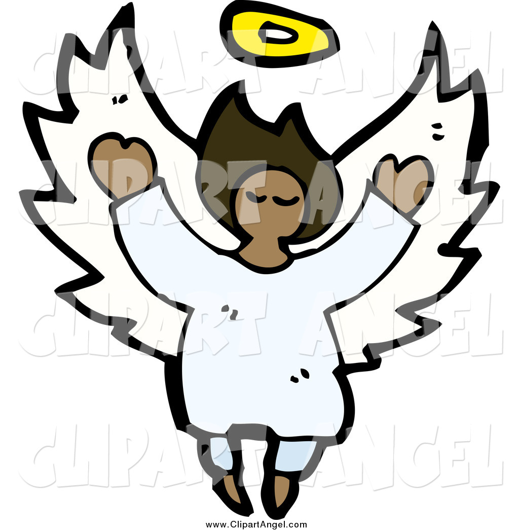Royalty Free African American Stock Angel Designs
