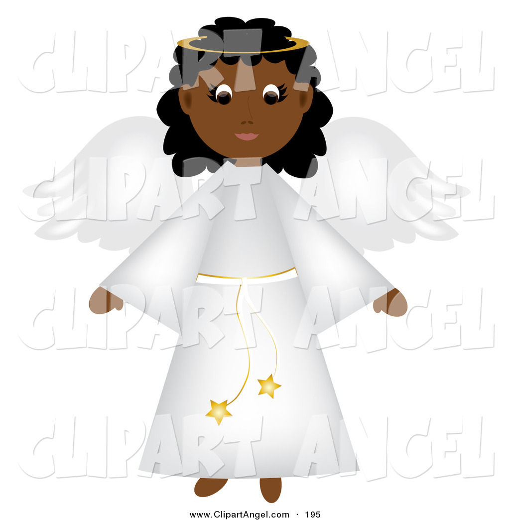free black angel clipart - photo #10