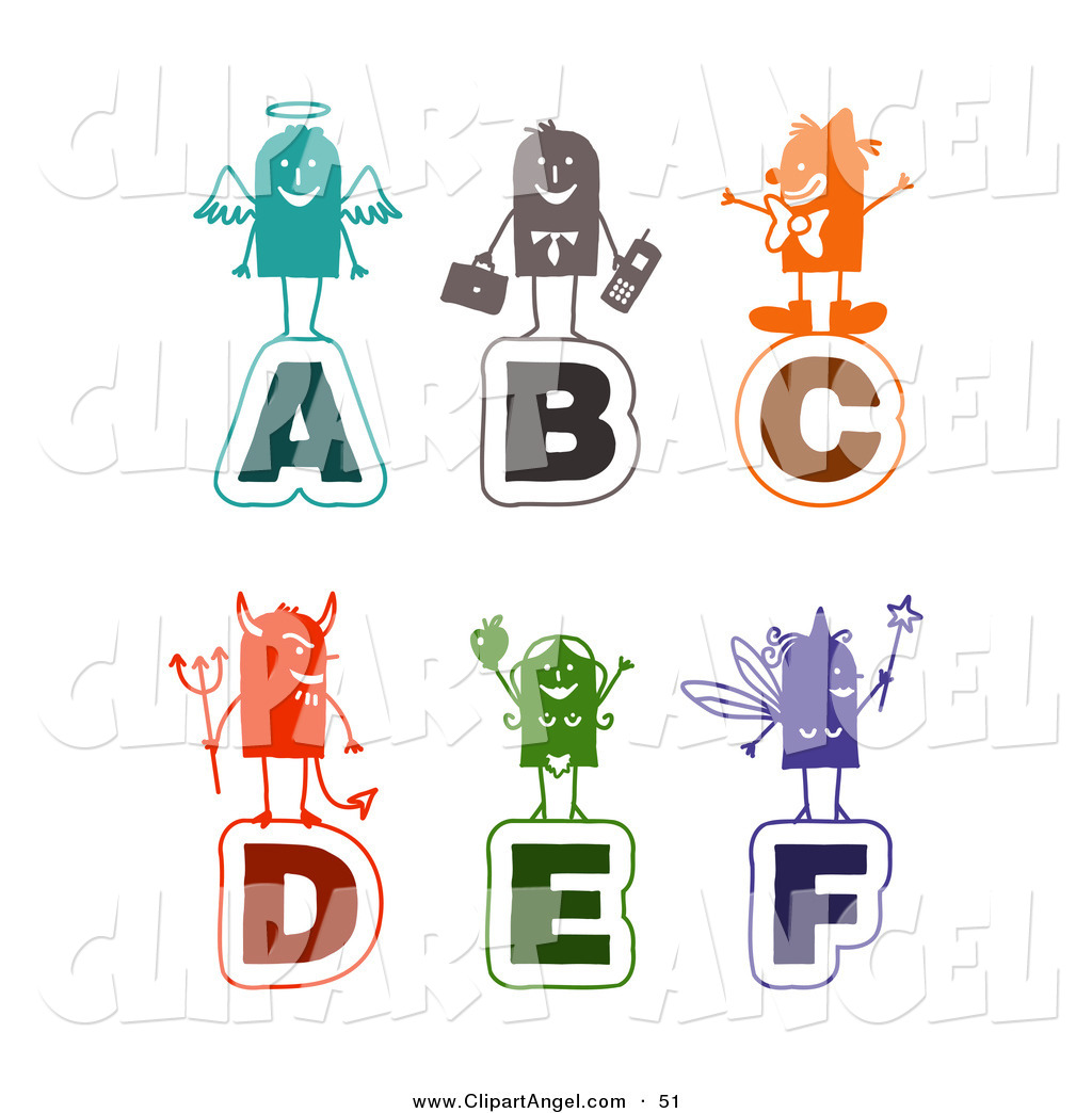 stick on letters illustration vector of a digital set of colorful stick 24984 | illustration vector of a digital set of colorful stick people alphabet letters by nl shop 51